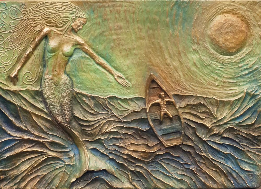 Mermaid Bronze Sculpture PNK Sculpture